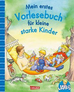 Mein erstes Vorlesebuch für kleine starke Kinder von Friedl,  Peter, Grimm,  Sandra