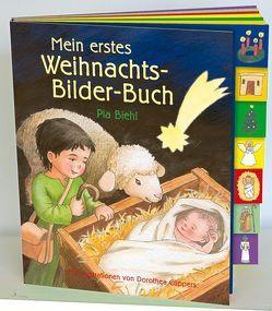 Mein erstes Weihnachts-Bilder-Buch von Biehl,  Pia, Cüppers,  Dorothea