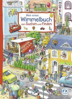 Mein erstes Wimmelbuch vom Suchen und Finden von Caryad, Suess,  Anne