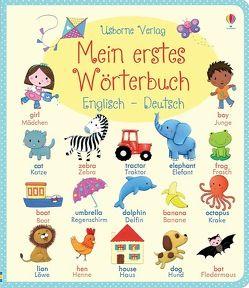 Mein erstes Wörterbuch: Englisch – Deutsch von Bonnet,  Rosalinde, Brooks,  Felicity