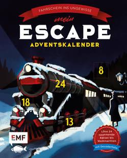 Mein Escape-Adventskalender: Fahrschein ins Ungewisse – Mit Decoderfolie