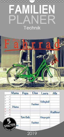 Mein Fahrrad – Familienplaner hoch (Wandkalender 2019 , 21 cm x 45 cm, hoch) von Roder,  Peter