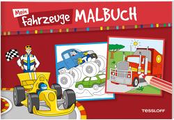 Mein Fahrzeuge-Malbuch von Braun,  Peter