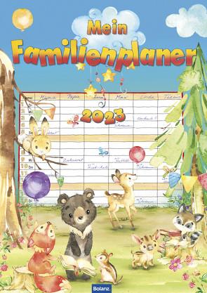 Mein Familienplaner 2023 von Elsner,  Claudia