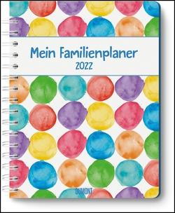 Mein Familienplaner-Buch »Tapetenwechsel« 2022 ‒ Buch-Kalender ‒ Praktisch, zum Mitnehmen ‒ mit 5 Spalten und vielen Zusatzseiten Tapetenwechsel 2022 von Strassek,  Kathrin