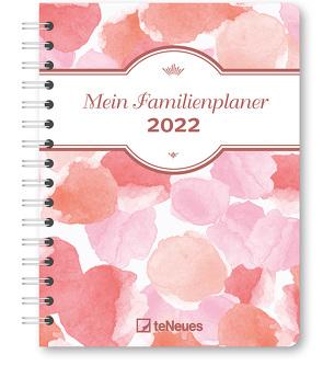 Mein Familienplaner Colour 2022 – Diary – Buchkalender – Taschenkalender – 17,5×23,1