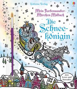 Mein Farbenzauber-Märchen-Malbuch: Die Schneekönigin von Bongini,  Barbara, Davidson,  Susanna