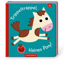 Mein Filz-Fühlbuch: Trippeltrappel, kleines Pony! von Kawamura,  Yayo