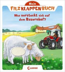 Mein Filzklappenbuch – Was versteckt sich auf dem Bauernhof? von Flad,  Antje