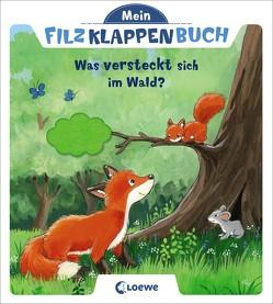 Mein Filzklappenbuch – Was versteckt sich im Wald? von Flad,  Antje