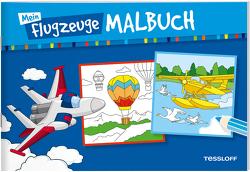 Mein Flugzeuge-Malbuch von Braun,  Peter