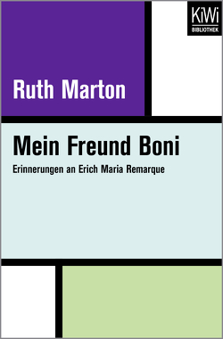 Mein Freund Boni von Marton,  Ruth, Schwarz,  Susan