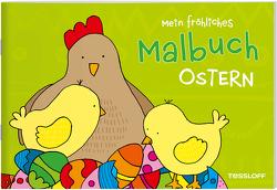 Mein fröhliches Malbuch. Ostern von Schmidt,  Sandra