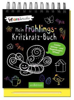 Mein Frühlings-Kritzkratz-Buch
