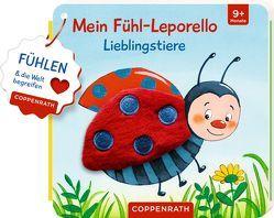 Mein Fühl-Leporello: Lieblingstiere von Kraushaar,  Sabine