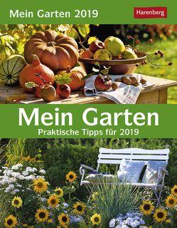 Mein Garten – Kalender 2019 von Harenberg, Thimm,  Ulrich