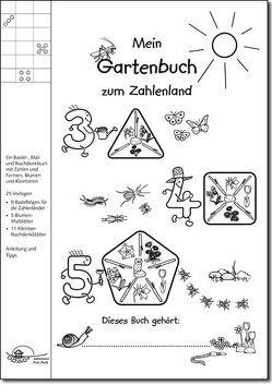 Mein Gartenbuch zum Zahlenland von Emde,  Matthias, Preiss,  Gerhard