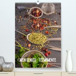Mein Genuss Teemomente (Premium, hochwertiger DIN A2 Wandkalender 2021, Kunstdruck in Hochglanz) von Siepmann,  Thomas