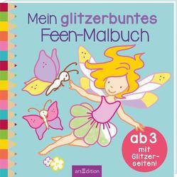 Mein glitzerbuntes Feen-Malbuch von Beurenmeister,  Corina