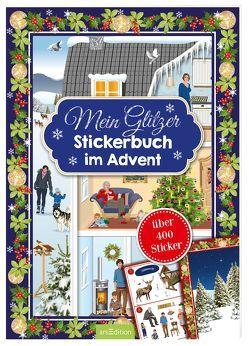 Mein Glitzerstickerbuch für den Advent