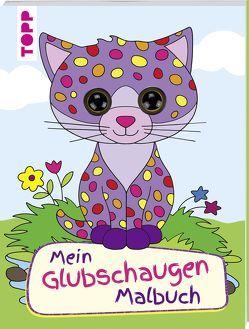 Mein Glubschaugen-Malbuch von Schwab,  Ursula