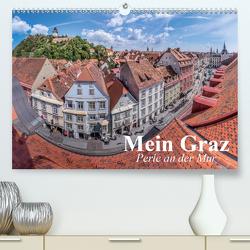 Mein Graz. Perle an der MurAT-Version (Premium, hochwertiger DIN A2 Wandkalender 2020, Kunstdruck in Hochglanz) von Stanzer,  Elisabeth