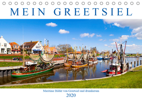 Mein Greetsiel (Tischkalender 2020 DIN A5 quer) von Dreegmeyer,  Andrea
