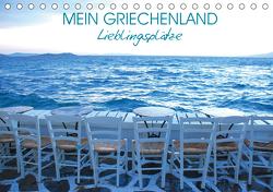 Mein Griechenland – Lieblingsplätze (Tischkalender 2021 DIN A5 quer) von Manz,  Katrin