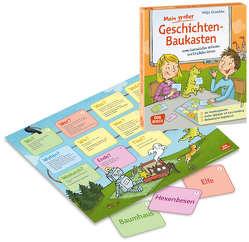 Mein großer Geschichten-Baukasten zum Geschichten erfinden und Erzählen lernen von Gruschka,  Helga