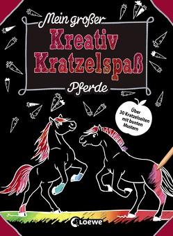 Mein großer Kreativ-Kratzelspaß: Pferde