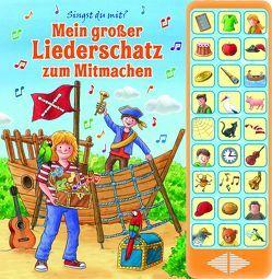 Mein großer Liederschatz zum Mitmachen – Hardcover-Buch – 27 Kinderlieder zum Mitsingen