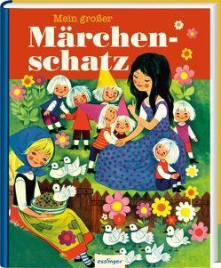 Mein großer Märchenschatz von Brüder Grimm, , Hoffmann,  Anny, Kuhn,  Felicitas, Mauser-Lichtl,  Gerti