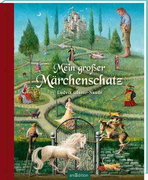 Mein großer Märchenschatz von Andersen,  Hans Christian, Glazer-Naudé,  Ludvik, Grimm,  Gebrüder, Wiencirz,  Gerlinde