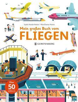 Mein großes Buch vom Fliegen von Bachhausen,  Ursula, Bordet-Pétillon,  Sophie, Peintre,  Marc-Etienne