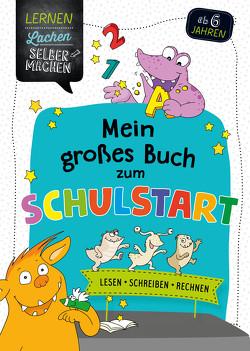 Mein großes Buch zum Schulstart von Jebautzke,  Kirstin, Koppers,  Theresia