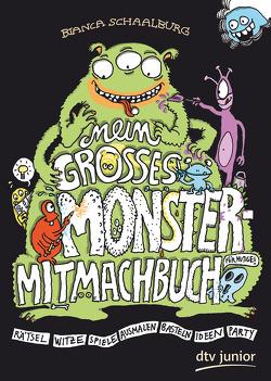 Mein großes Monster-Mitmachbuch von Schaalburg,  Bianca