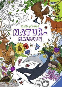 Mein großes Natur-Malbuch von Berens,  Christina, Bunse,  Rolf, Eimer,  Petra, Lenz,  Gudrun