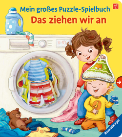 Mein großes Puzzle-Spielbuch: Das ziehen wir an von Bookella, Heger,  Lena