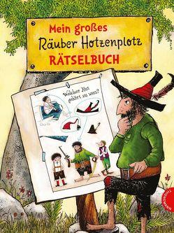 Mein großes Räuber Hotzenplotz-Rätselbuch von Preussler,  Otfried, Tripp,  F J, Weber,  Mathias