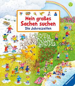 Mein großes Sachen suchen: Die Jahreszeiten von Gernhäuser,  Susanne, Jelenkovich,  Barbara