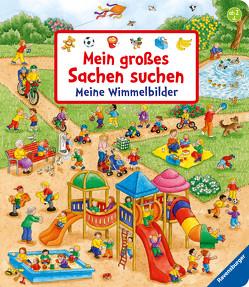 Mein großes Sachen suchen: Meine Wimmelbilder von Gernhäuser,  Susanne, Jelenkovich,  Barbara
