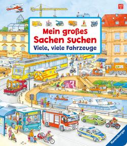Mein großes Sachen suchen: Viele, viele Fahrzeuge von Gernhäuser,  Susanne, Weller,  Ursula