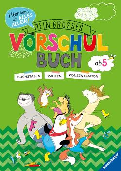Mein großes Vorschulbuch von Jebautzke,  Kirstin, Koppers,  Theresia