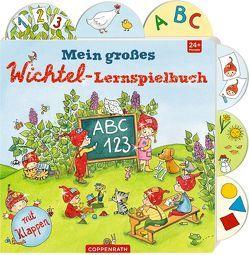 Mein großes Wichtel-Lernspielbuch von Grimm,  Sandra, Kaden,  Outi