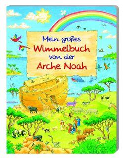 Mein großes Wimmelbuch von der Arche Noah von Marquardt,  Vera, Tophoven,  Manfred