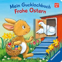 Mein Gucklochbuch: Frohe Ostern von Flad,  Antje, Häfner,  Carla