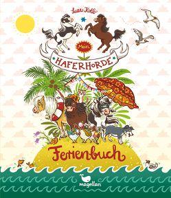 Mein Haferhorde Ferienbuch von Dulleck,  Nina, Kolb,  Suza