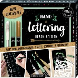 Mein Handlettering Starter-Set Black Edition