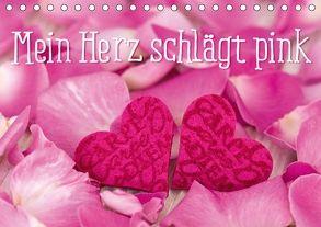 Mein Herz schlägt pink (Tischkalender 2018 DIN A5 quer) von Haase,  Andrea