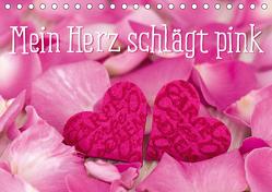 Mein Herz schlägt pink (Tischkalender 2020 DIN A5 quer) von Haase,  Andrea